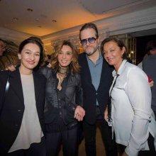 Carine Maillard (GPGH), Nazanin Lankarani (WorldTempus) , David Brolliet, Brigitte Bocquet-Makzhani (FP Journe)17