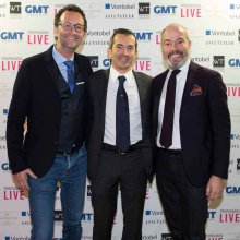 Denis Giguet (MCT), Brice Lechevalier (GMT Publishing), Gianluca Maina (De Grisogono)25