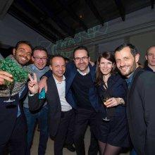 Nicola Clary (Faberg+®), Fran+ºois-R+®gis Richard (e-Patent), Christophe Claret (Christophe Claret), Fran+ºois Nerot (Agenhor), Aur+®lie Piccaud (Faberg+®), Gr+®gory Dourde (HYT)52