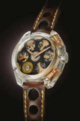 ARTYA Son of a Gun Glasnost – Entirely transparent case set with real bullets